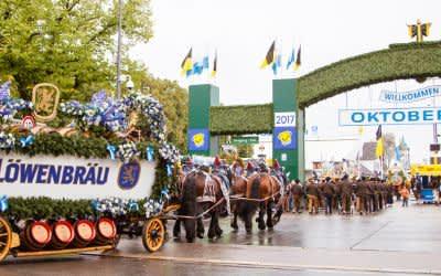 Wirteeinzug Oktoberfest München 2017