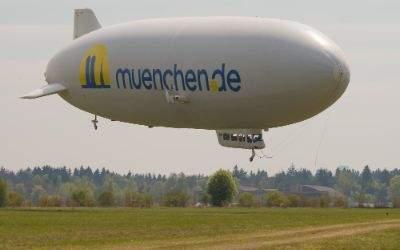 Zeppelin mit muenchen.de Logo