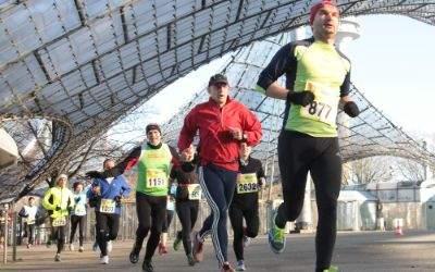 Silvesterlauf im Olympiapark