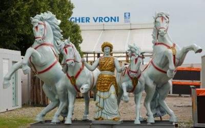 Bavaria mit Pferden