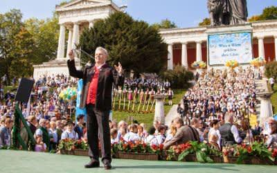 Stankonzert der Wiesn-Kapellen 2017