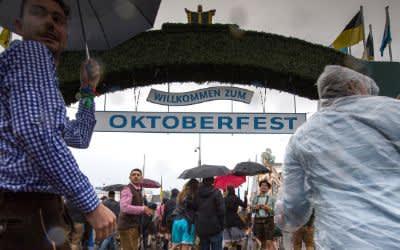 Großer Andrang beim Oktoberfest