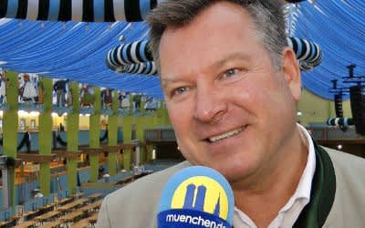 Wiesnrundgang 2017: Bürgermeister Schmid