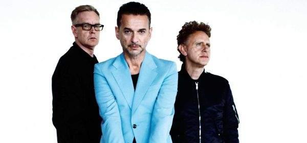 Depeche Mode Konzertankündigung für 9.6.2017 im Olympiastadion