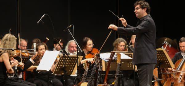 Benefizabend Bellevue di Monaco: Orchester