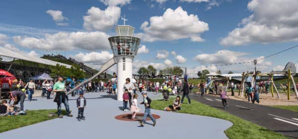 Erlebnisspielplatz im Besucherpark