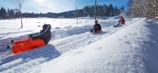 Das Wintersportgebiet Blombergbahn