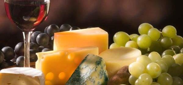 Wein mit Käse