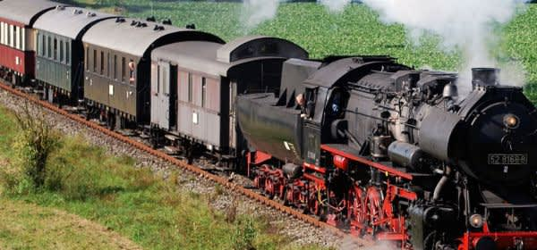 Historische Dampflokfahrt