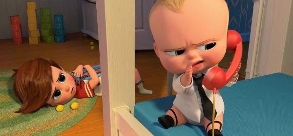 """Szene aus dem Film """"Boss Baby""""."""