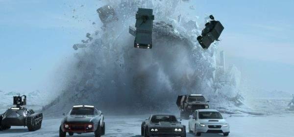 "Szene aus dem Film ""Fast & Furious 8""."