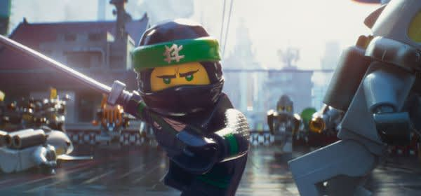 "Szene aus dem Film ""The Lego Ninjago Movie"""