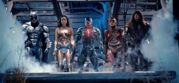 Szene aus Justice League