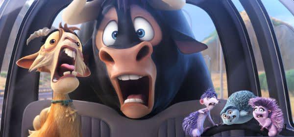 """Szene aus dem Film """"Ferdinand - Geht stierisch ab!"""""""