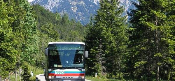 RVO: Bus vom Regionalverkehr Oberbayern, Karwendel, Lenggries