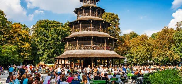 Biergarten am Chinesischen Turm