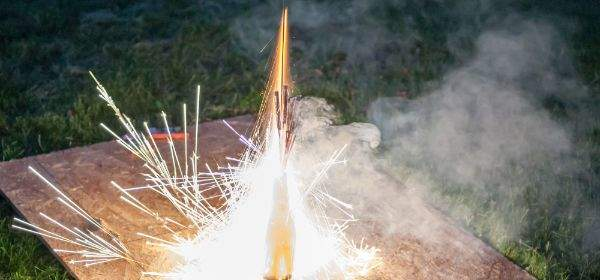 Feuerwerk Rakete