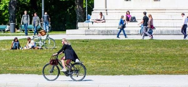 Fahrrad am Königsplatz