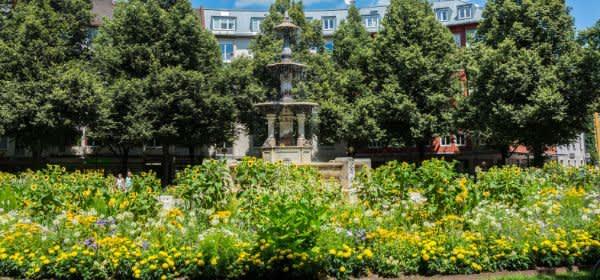 Brunnen am Weißenburger Platz