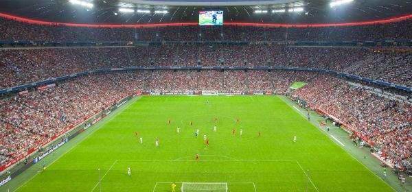 Impressionen von der Allianz Arena.