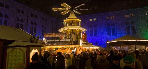 Weihnachtsdorf in der Residenz