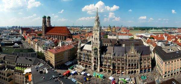 Munich Travel Tourism Munich – Munich Tourist Map
