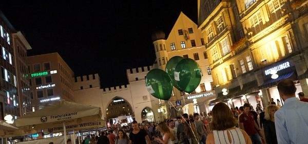 Die Kult(ur)-Nacht feierte am 9.9.2016 in München ihr 10. Jubiläum.