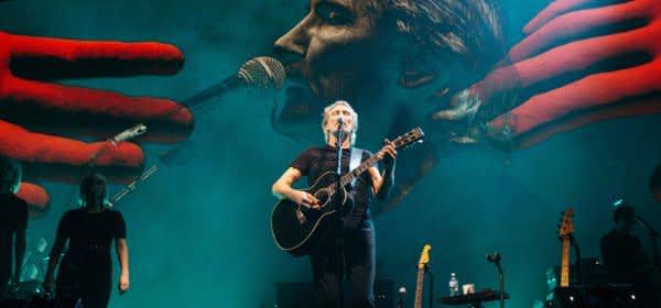 Der Sänger Roger Waters