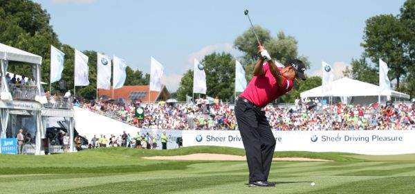 Spieler bei den BMW International Open in Eichenried