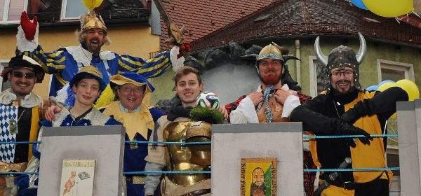 Faschingsumzug der Damischen Ritter mit Herzog Kasimir
