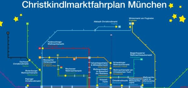 Christkindlmarkt-Fahrplan