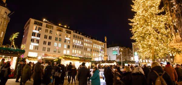 Marienplatz Christkindlmarkt 2017