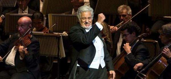 Oper Aida mit Placido Domingo.