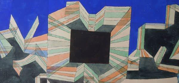Paul Klee, Das Tor der Nacht, 1921