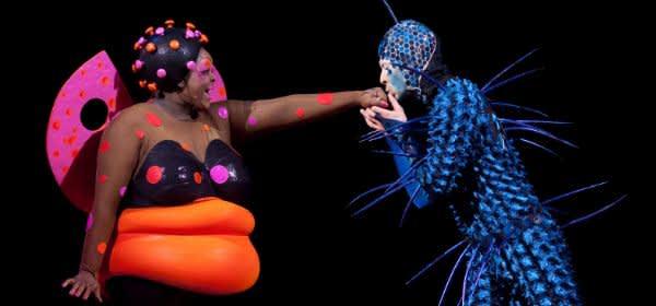 Szene aus dem Cirque du Soleil
