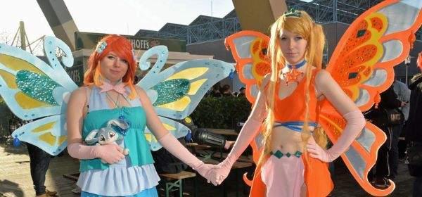 Cosplay-Elfen bei der German Comic Con
