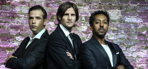 Das Trio The Lovely Bastards
