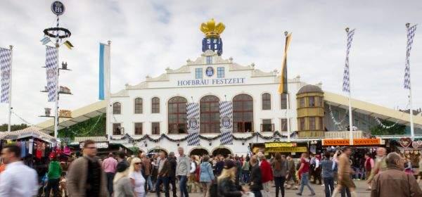 Hofbräu-Festzelt auf der Wiesn