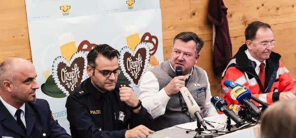 Pressekonferenz Oktoberfest Schlussbericht