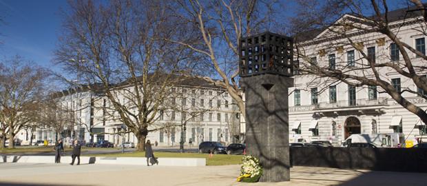 Platz der Opfer des Nationalsozialismus  Das offizielle