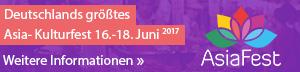 AsiaFest - Spirit of Asia 16. - 18. Juni 2017, Sonderfläche Riem