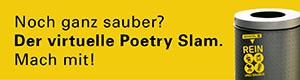 München. Rein. Und sauber. Der Poetry Slam.