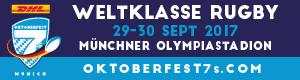Das DHL Oktoberfest 7s. Das größte Rugby-Spektakel jemals auf deutschem Boden.
