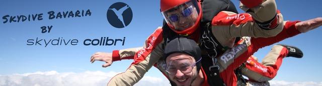 Komm Fallschirmspringen zu Skydive Colibri mitten in Bayern! Fallschirmspringen bei Profis.