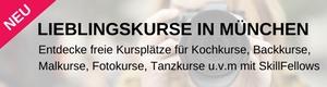 Lieblingskurse und Workshops in München. Für dich gefunden.